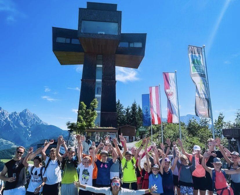 Sommertraining des Bezirkskaders Alpin